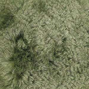 79 Round Mercury Hand woven Rug, Green, Carpet