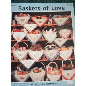 BASKETS OF LOVE FROM GRAPH IT ARTS   CROSS STITCH 18 DESIGNS FOR
