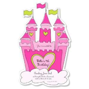Childrens Birthday Party Invitations   The Royal Treatment Party