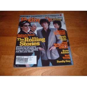 Rolling Stone Magazine September 22 2005 The Rolling Stones