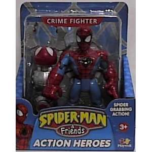 Spider man & Friends Crime Fighter Spiderman Figure with