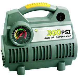 Superex PSI Air Compressor w/ Illuminated Gauge Tools