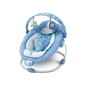 Bright Starts Comfort & Harmony Baby Bouncer   Blue Baby