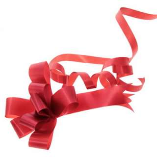 Pull Bows   Red   Christmas Bows   Valentine Bows   Packaging