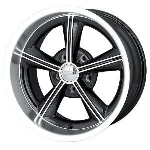 625 (Black w/ Machined Face & Lip) Wheels/Rims 5x120.7 (625 7961B