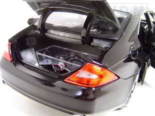 MERCEDES CLS CLASS BLACK CUSTOM DIECAST CAR MODEL 1/18