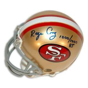 Roger Craig Autographed San Francisco 49ers Mini Helmet Inscribed