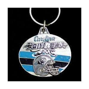 NFL Design Key Ring   Carolina Panthers