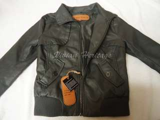 Brand New Women Black Leather Bomber Removable Hooded Jackets