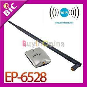 High Powerful USB Wireless WIFI Adapter Card with 10DBI Antenna