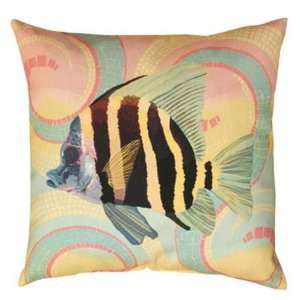 Tropical Fish Indoor/Outdoor Weather Resistant Fabric Pillows